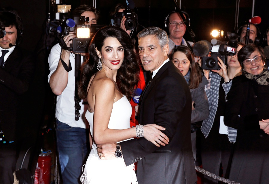 George and Amal Clooney welcome birth of twins | New Straits Times