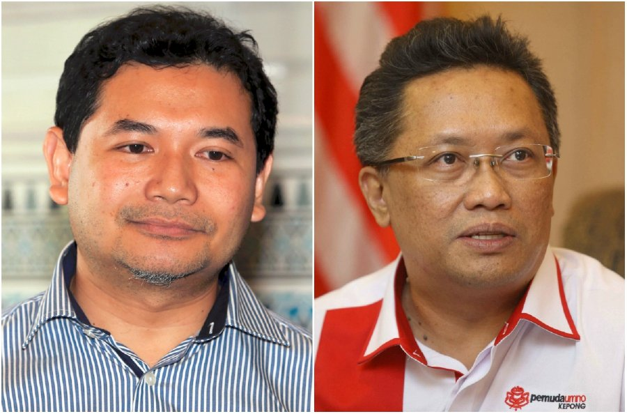 The Case Of Former Minister In Prime Ministers Department Datuk Seri Abdul Rahman Dahlans Left Suit Against Mohd Rafizi Ramli Right Was Settled After