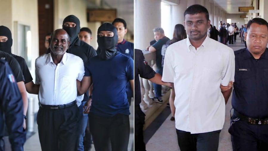 Those charged included two DAP assemblymen – Seremban Jaya assemblyman P Gunasekaran (left) and Gadek assemblyman G Saminathan. (NSTP/File pic)