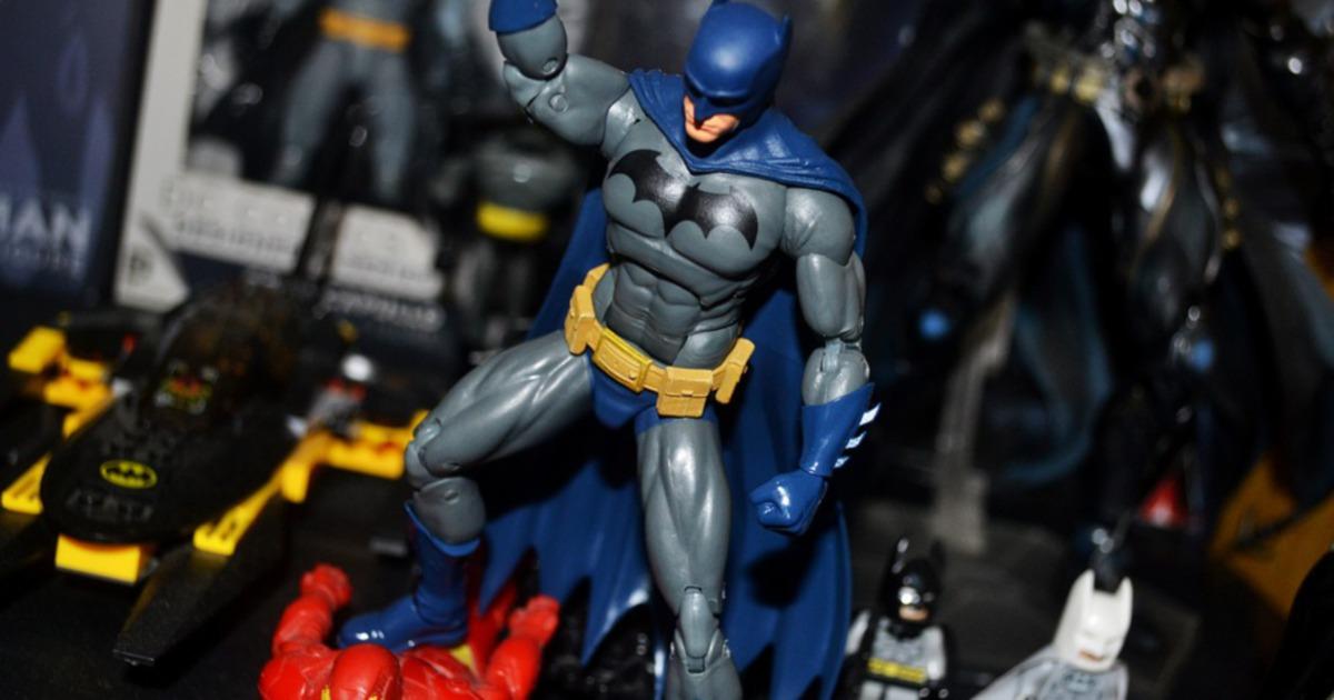 Action figure afficionado exhibits rare Batman collection
