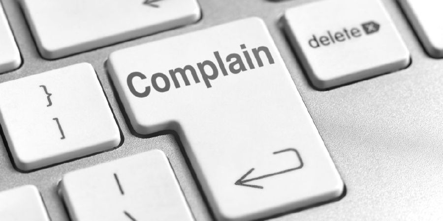 when making complaints keep calm and keep to the point new