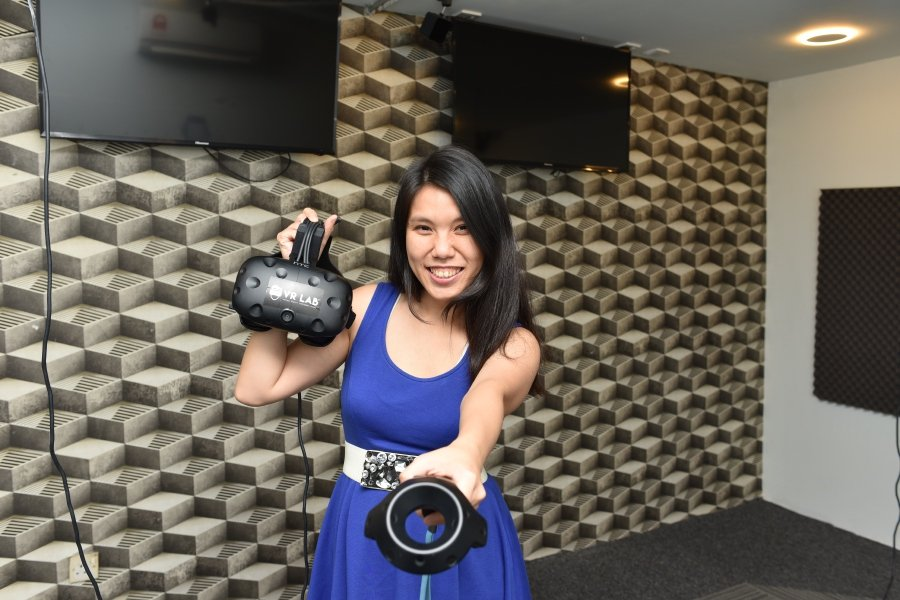 The co-founder and owner of virtual reality centre VR Lab Datin Shireen Tan.