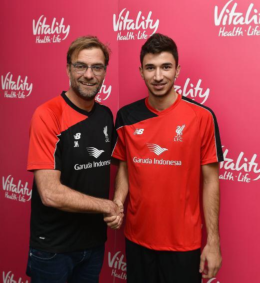 new concept 76b9e 2c324 Liverpool sign Serbian midfielder Grujic | New Straits Times ...