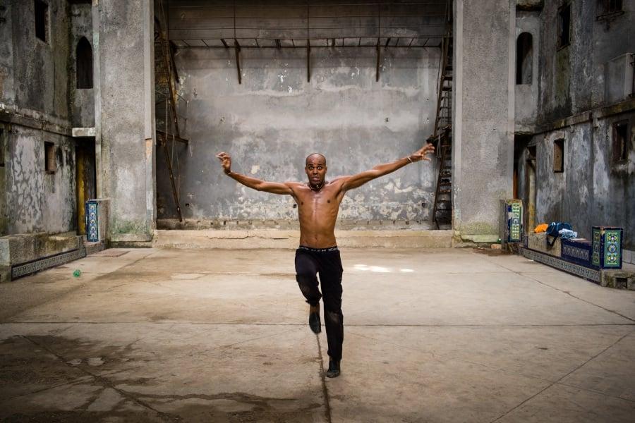 A dancer in Cuba.