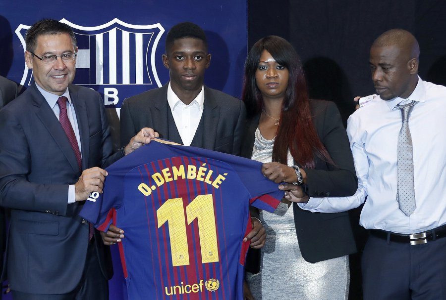 competitive price 2f3c2 784d8 I'm no Neymar, insists Barca new boy Dembele | New Straits ...