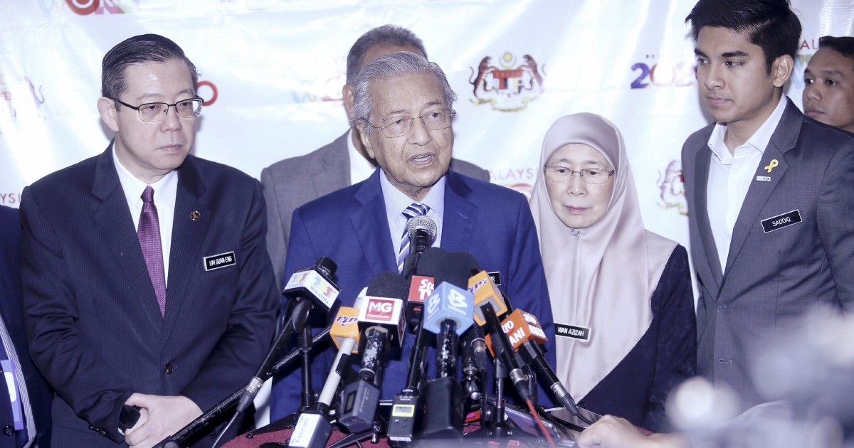 Dr M chides MPs for being absent from Dewan Rakyat sitting