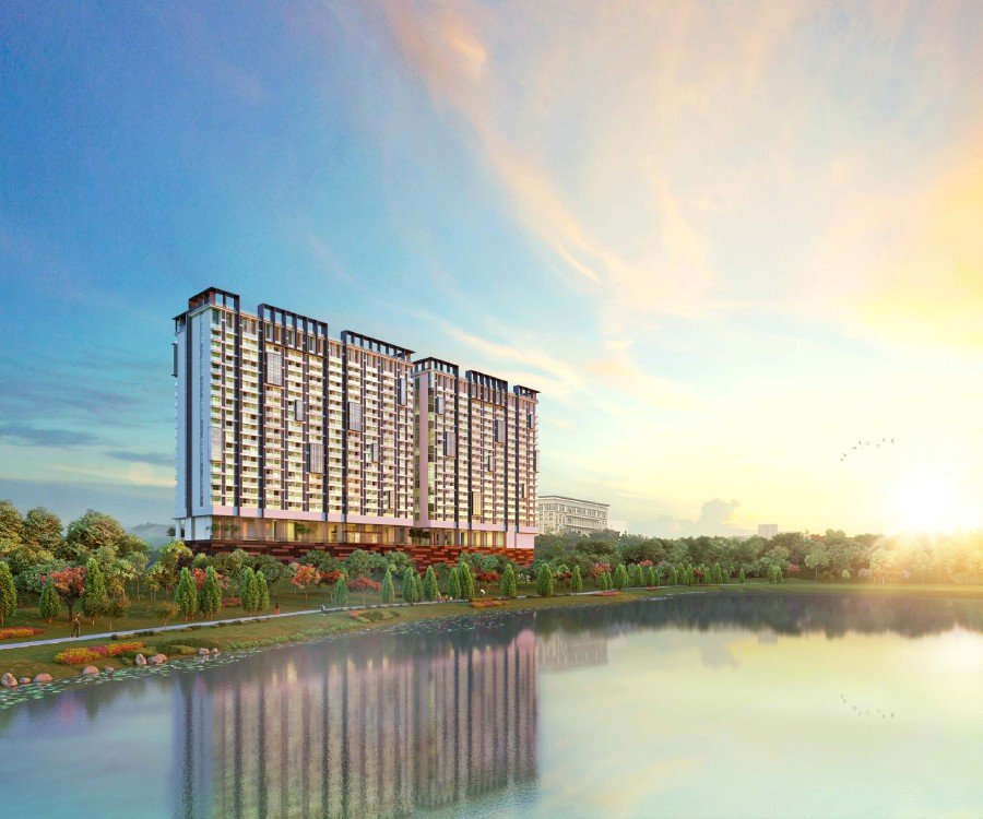 (File pix) Dorsett Waterfront Subang will have 1,989 fully-serviced suites that front the Subang Ria Recreational Lake and park.