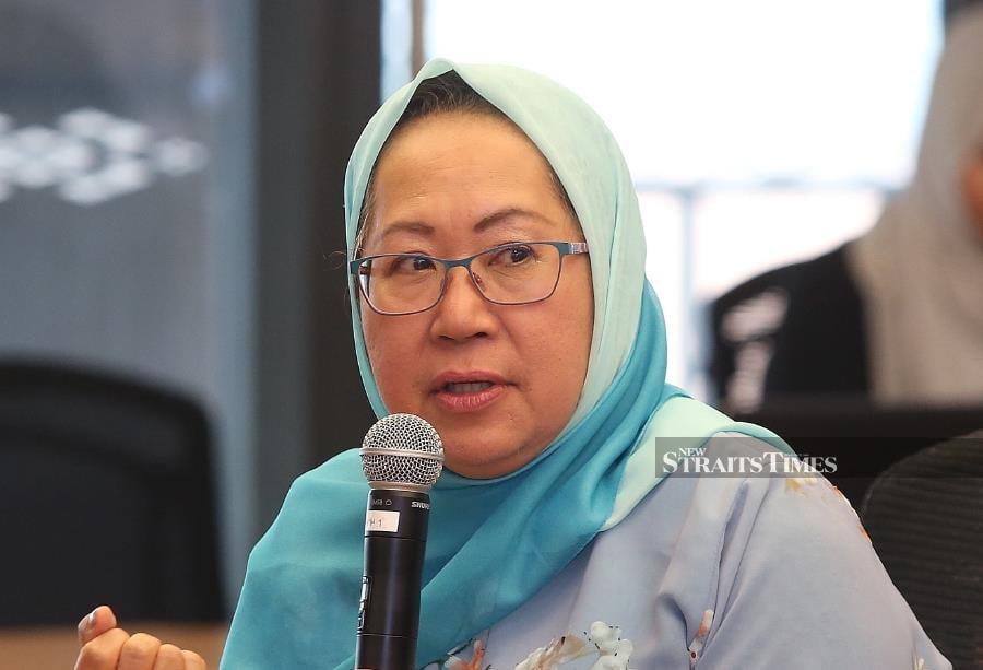 Mercy Malaysia founder Tan Sri Dr Jemilah Mahmood is the recipient of the 2019 Asean Prize. - NSTP/NUR ADIBAH AHMAD IZAM
