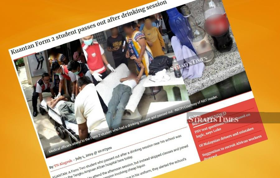 Probe into intoxicated students completed