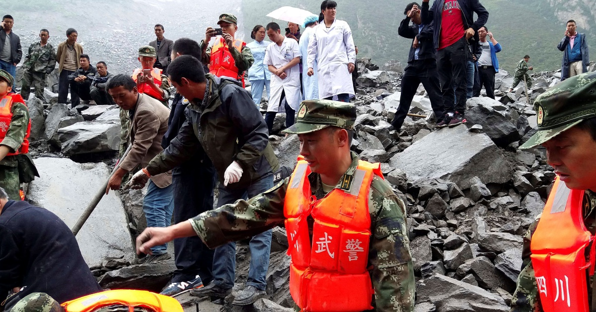 [LATEST] Over 140 people feared buried in China landslide