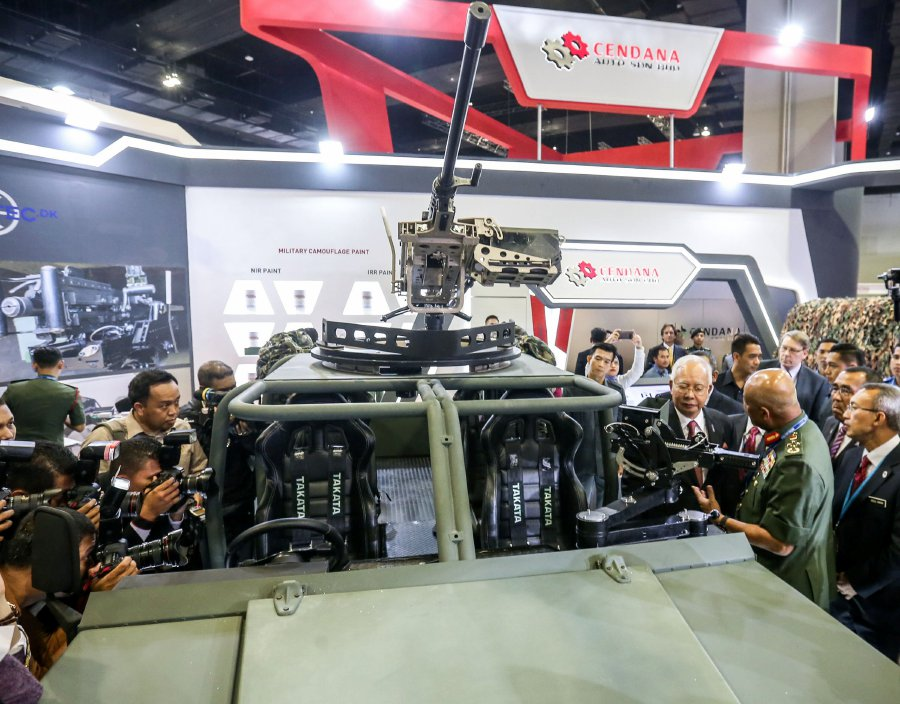 A total of 50,000 visitors set to throng DSA 2018   New Straits