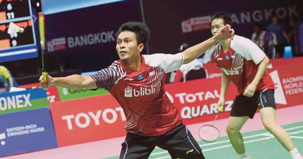 Indonesia look to doubles for glory