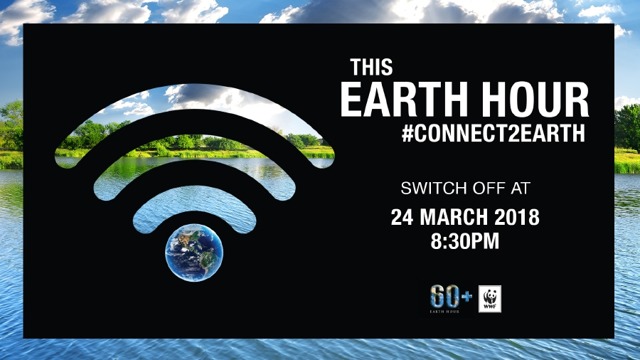 Lights go off for Earth Hour, global call on climate change