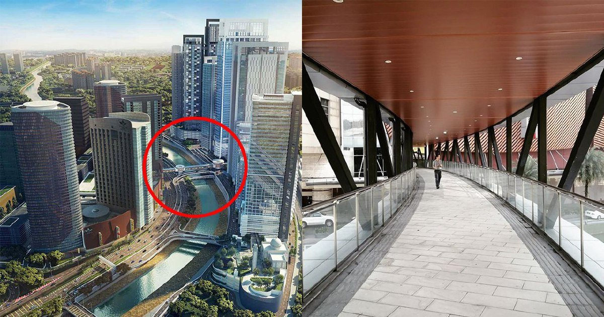 At last! You can now reach Mid Valley via LRT thanks to new pedestrian bridge