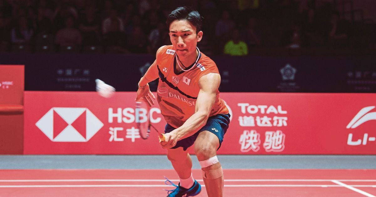 Momota one win from 11th badminton title of the year