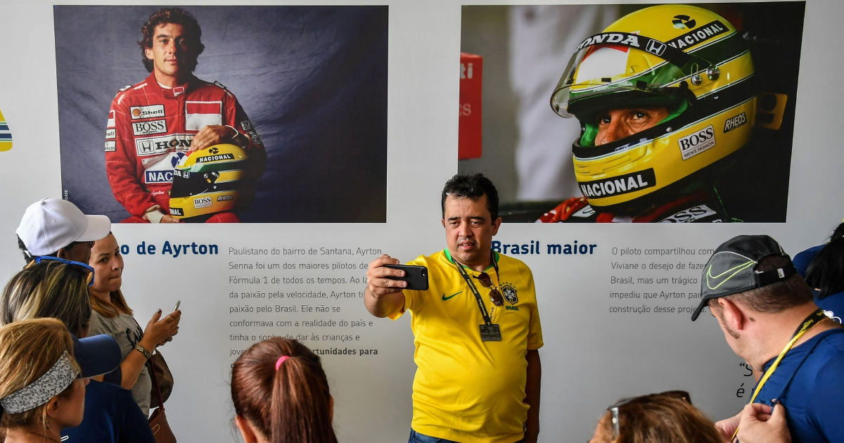 'Senna Day' Held In Brazil On 25th Anniversary Of F1 Great