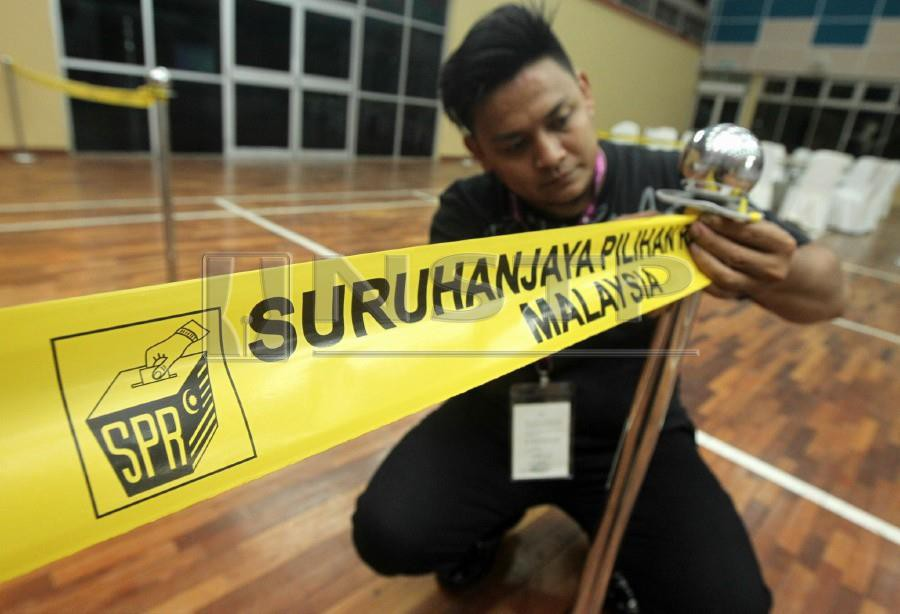 (Stock image for illustration purposes)The Election Commission (EC) has fixed March 2 as polling day for the Semenyih by-election. NSTP/INTAN NUR ELLIANA ZAKARIA