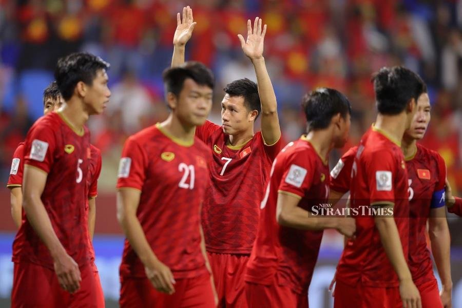 Vietnam cruised their way to the Southeast Asian Games men's football with a routine 3-0 win in the final over Indonesia in Manila. NSTP/Pix courtesy of FIFA.com