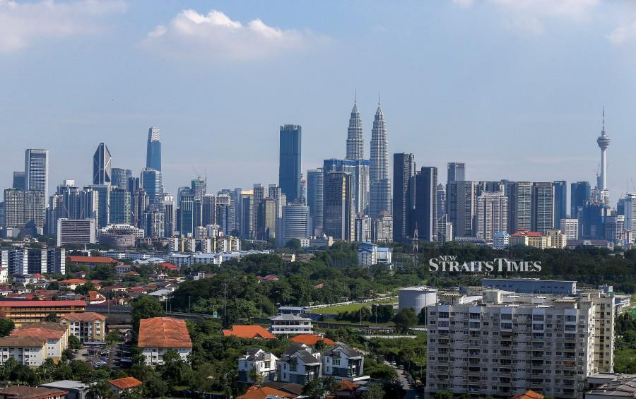 KL is one of three Asian cities in the top 10. NSTP/MUHD ZAABA ZAKERIA.