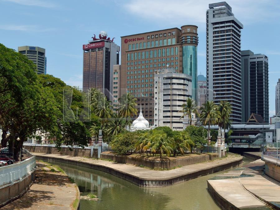 The Klang river has been grossly neglected as the city grew and developed over the years.