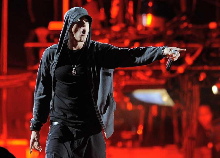 A two-week trial that ended at the High Court in Wellington in the case in which music publishers for Eminem are suing New Zealand's ruling conservative political party for copyright infringement. The judge may not rule for months. AP