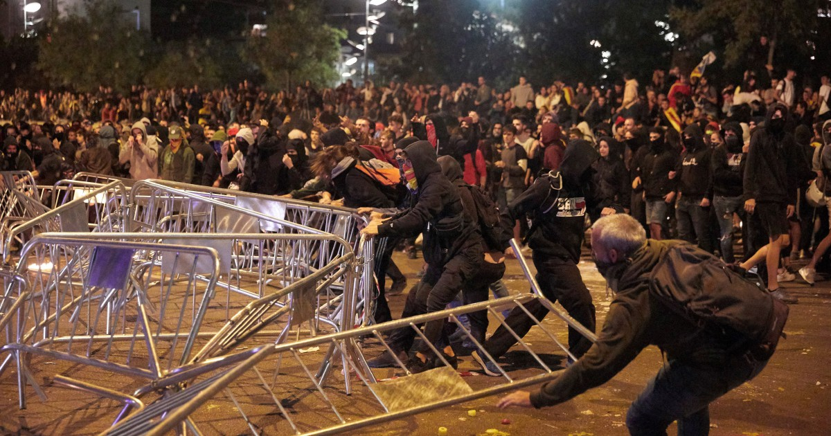30 people arrested during Catalan protests: Police