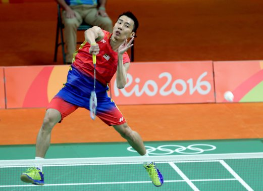 Olympics Chong Wei Cruises Past Surinames Opti For First Win In Rio