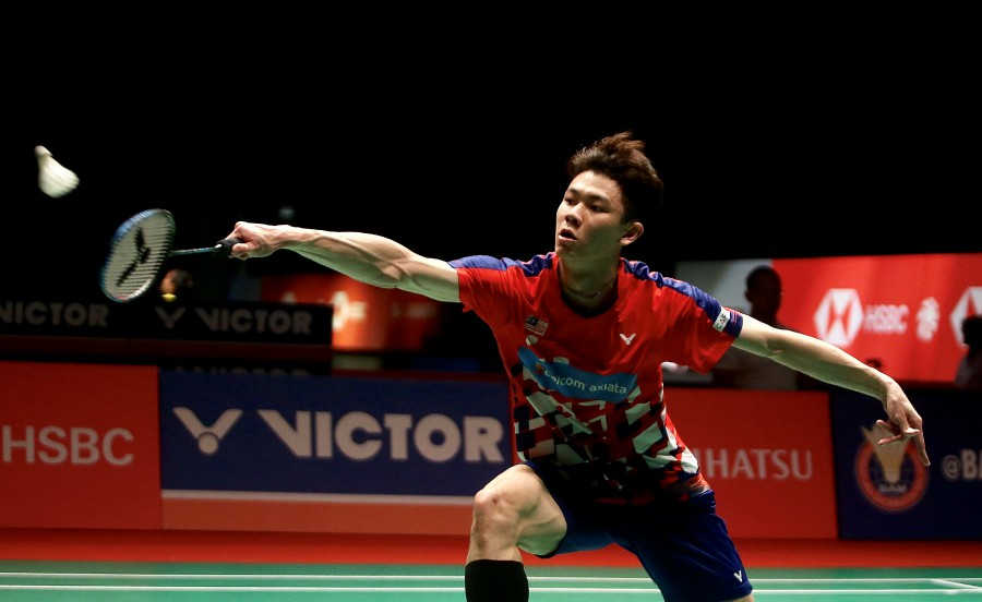 Lee Zii Jia will face Viktor Axelsen in the All England Open semi-final match in Birmingham. - NSTP/File pic