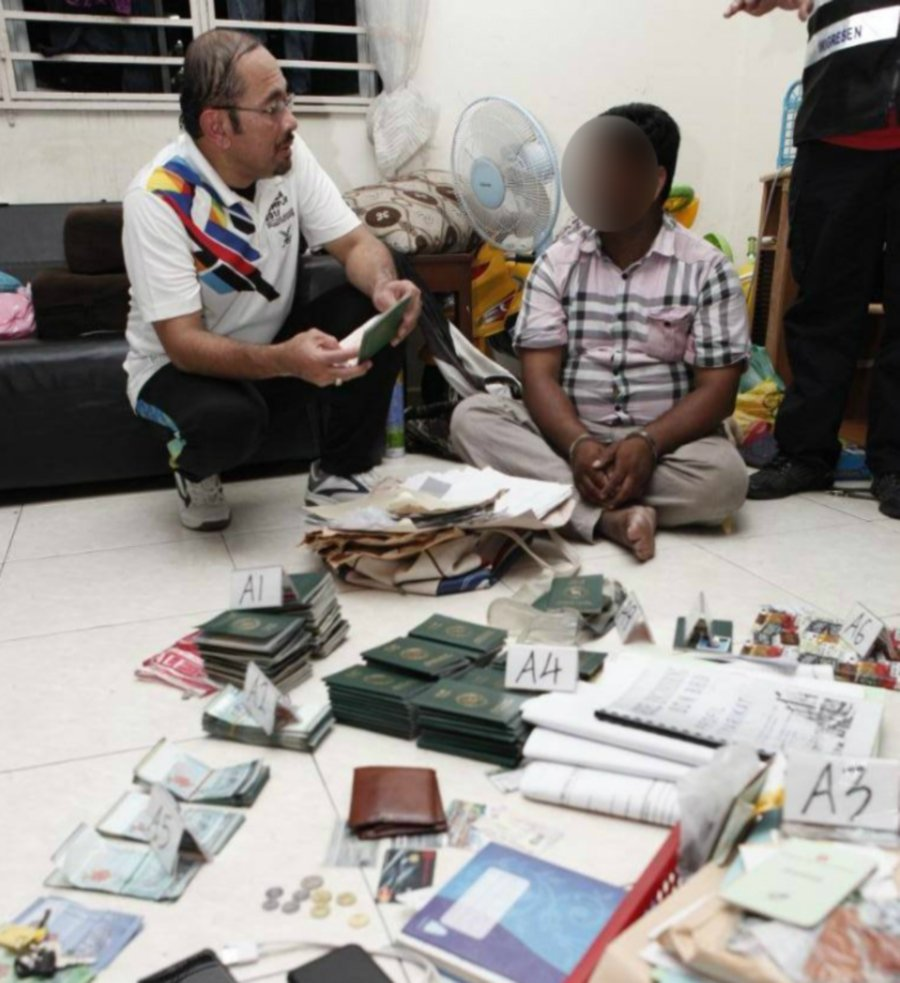 Fake Ring Penang In Straits Lifestyle Immigration Business Dept Times Passport News General New Sports And Malaysia Smashes