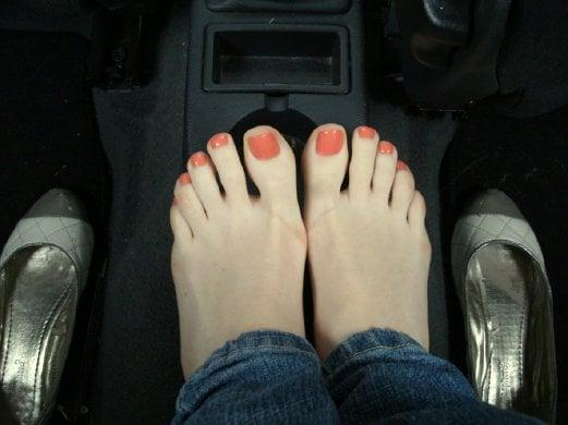 Men lick girl feet, Tickling hot girl