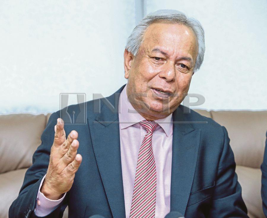 Felcra Berhad chairman Datuk Mohd Nageeb Abdul Wahab. (NSTP/MUHD ZAABA ZAKERIA)