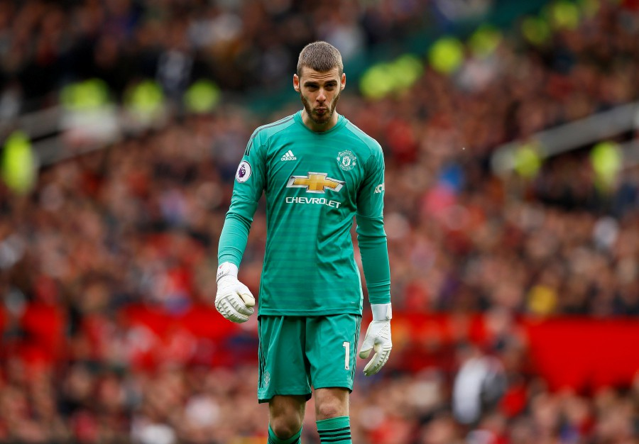 49b767981f0 Man Utd s Solskjaer must show authority by dropping De Gea - Wright ...