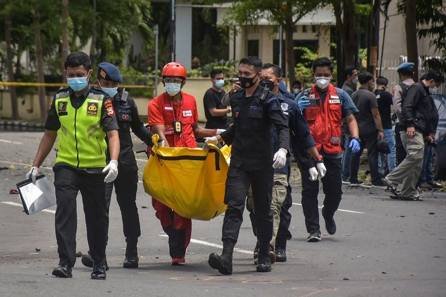 Indonesia church attack was suicide bombing: Chief security minister