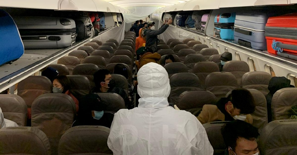 To avoid getting coronavirus on flights, forget masks, gloves