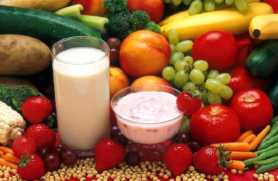 Half of a balanced diet is made up of vegetables and fruits. FILE PIC
