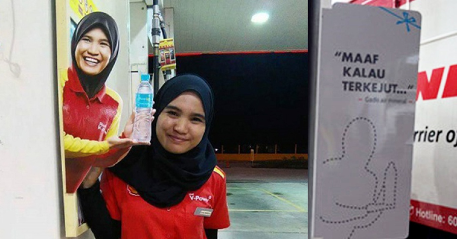 Shell removes standees of model after 'distasteful' photos go viral