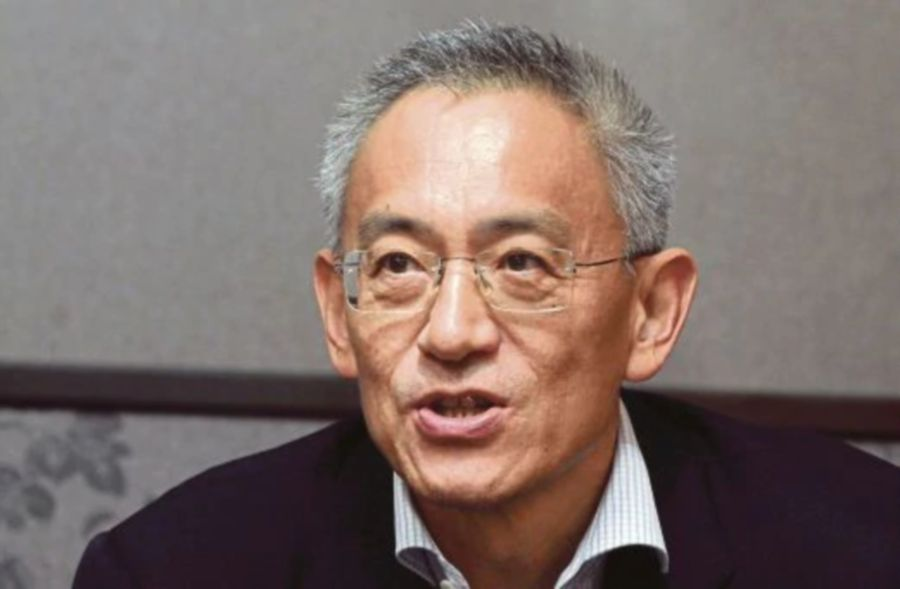 (File pix) Lin has served as the Group Managing Director since February 10, 1981.