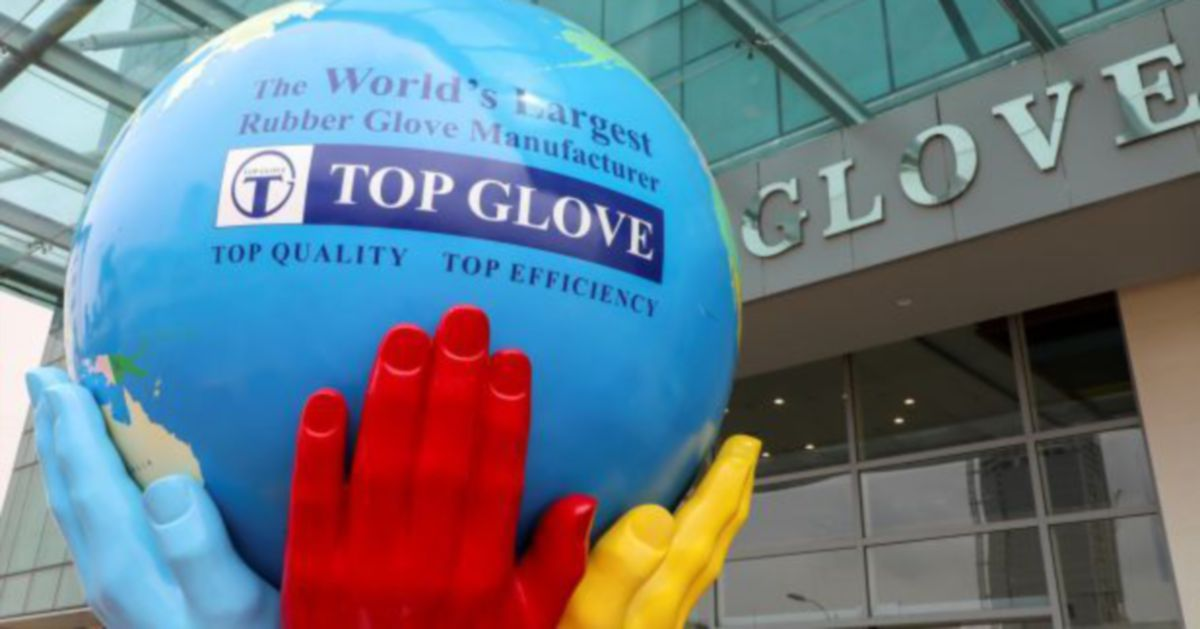 Top Glove stock takes a hit