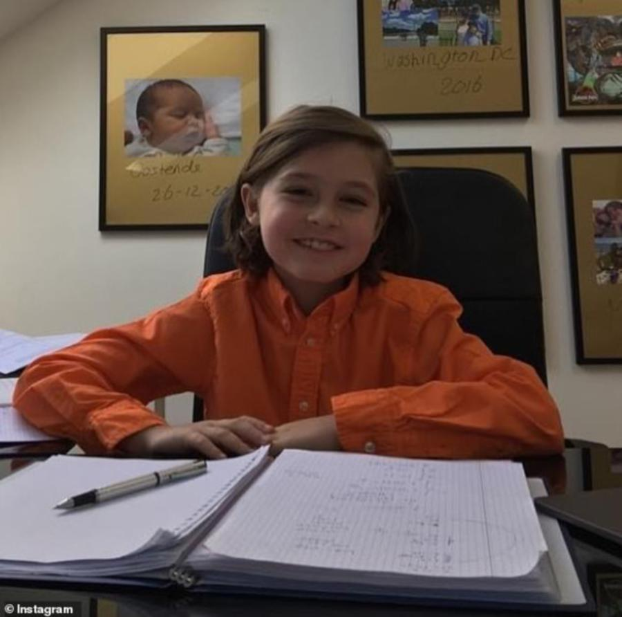 Wunderkind, 9, sets his sights on Oxford