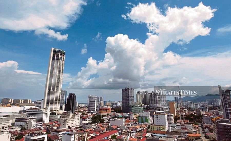 Penang's largest city, George Town, is home to eclectic architecture, a vibrant art scene, and terrific street food. - NST/file pic.