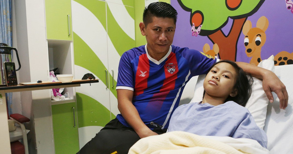 Single father seeks help for daughter's corrective heart surgery