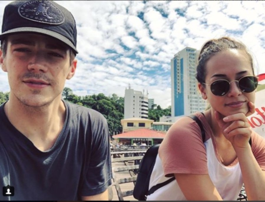 Actor Thomas Grant Gustin shared with his Instagram followers of his pleasant stay with his half-Kadazan fiancée Andrea Thoma during their recent visit here. (pix of Instagram)