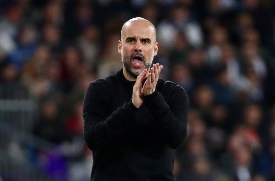 Pep Guardiola has donated one million euros ($1.08 million) to help buy medical supplies for the fight against the coronavirus pandemic. REUTERS