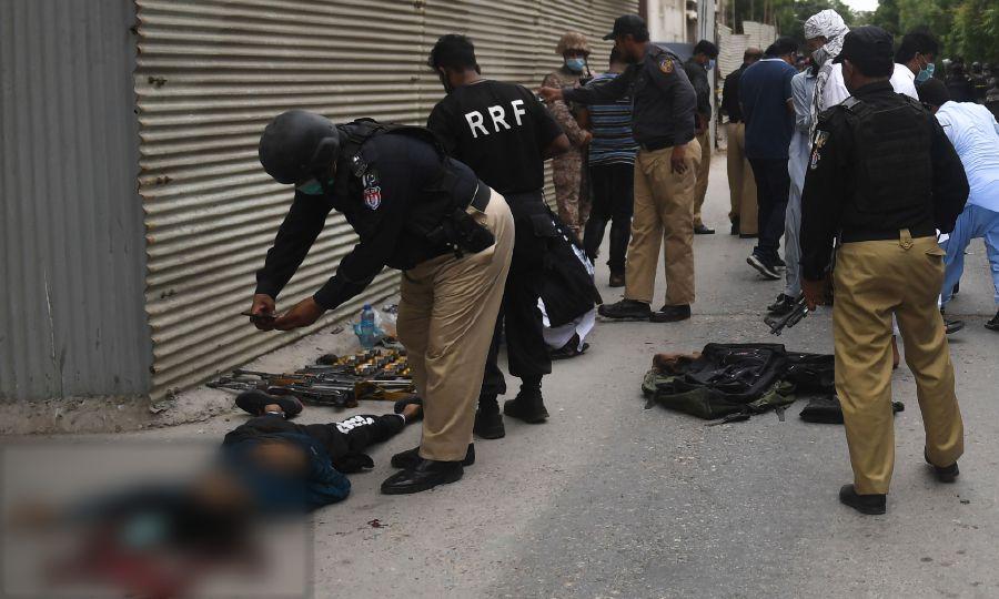 Нападение на Пакистанскую Фондовую Биржу