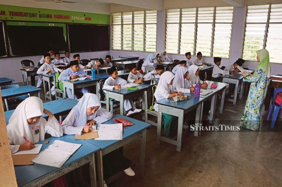 Because we have lost our educational soul, modern education rarely inspires students. - NST/file pic.