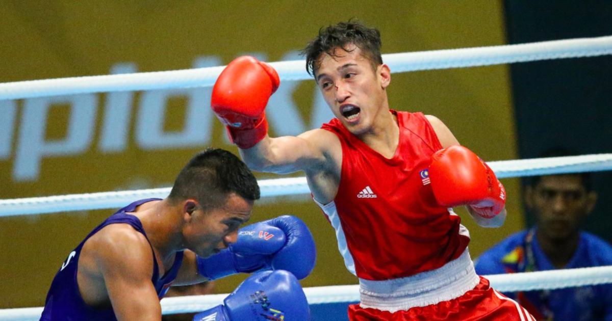 KL2017: Fuad punches his way into men's U-49kg boxing final