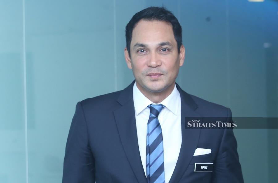 Finas chairman Datuk Hans Isaac. (Picture by NSTP/NURUL SHAFINA JEMENON)