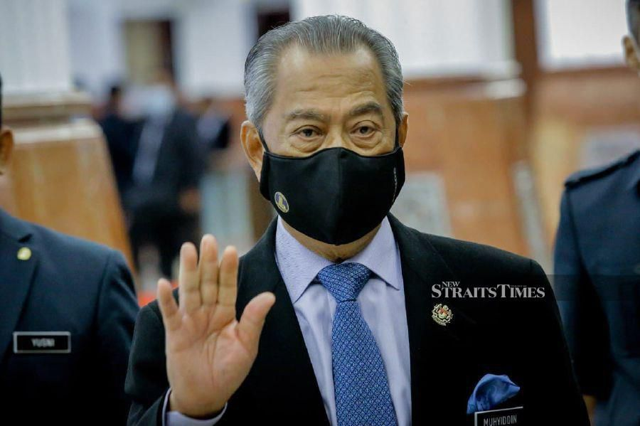 he Malaysia Halal Council, which was reactivated in the wake of the meat cartel scandal, will be temporarily chaired by Prime Minister Tan Sri Muhyiddin Yassin. - NSTP/ASYRAF HAMZAH.