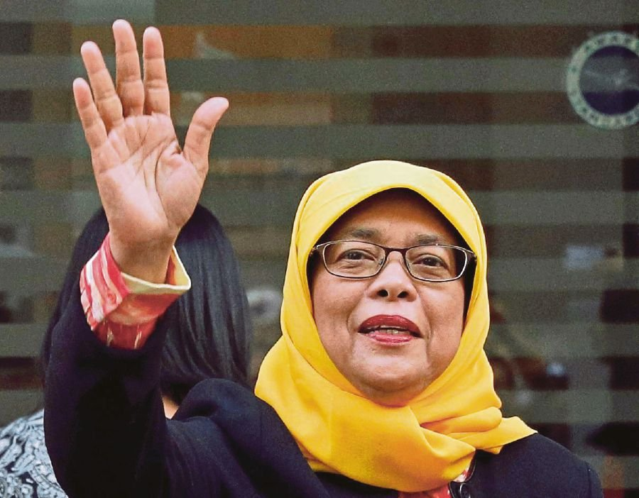 Singapore's First Female President Will Be A Hijab-Wearing Muslim Woman