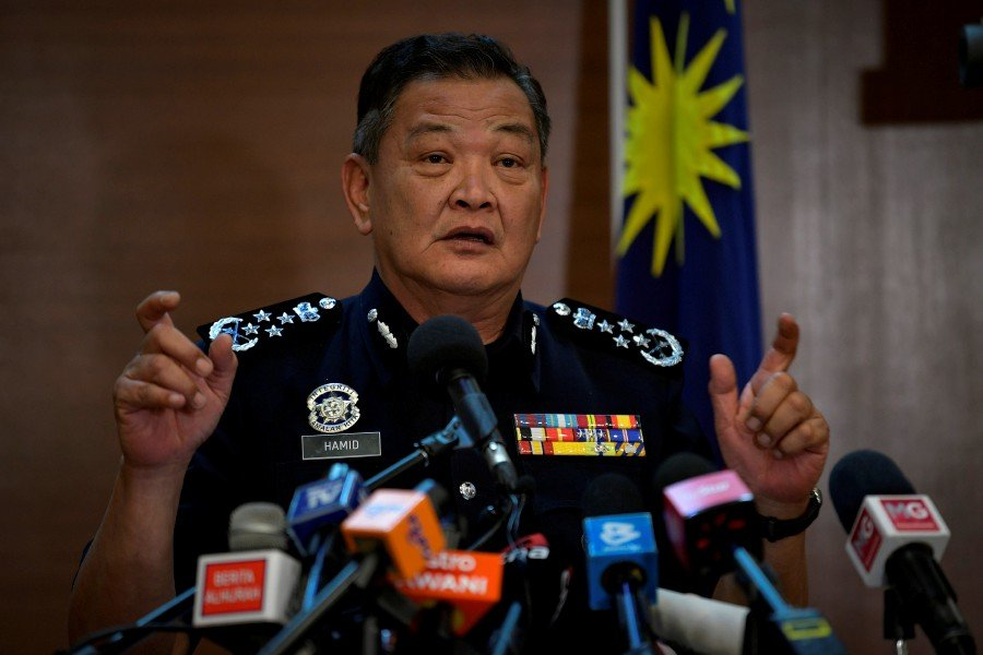 Inspector-General of Police Tan Sri Abdul Hamid Bador  says those found guilty of flouting the prohibition could be sentenced to not more than three years' jail, or a fine of not more than RM20,000, or both. - BERNAMA/File pic